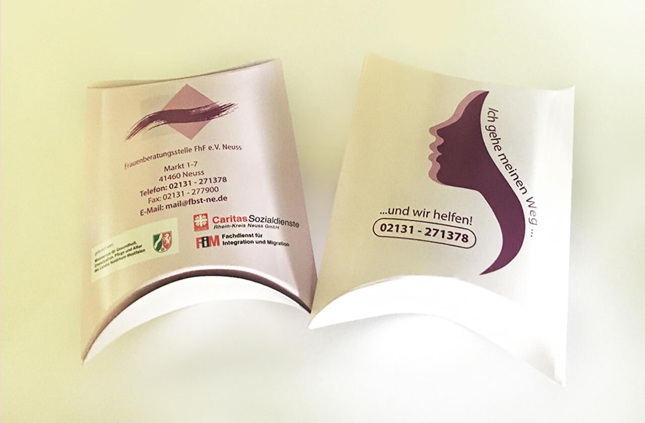 Frauenberatungsstelle Neuss Verpackung