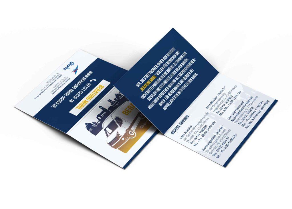 Faltkarte Beratung Mobil Neuss