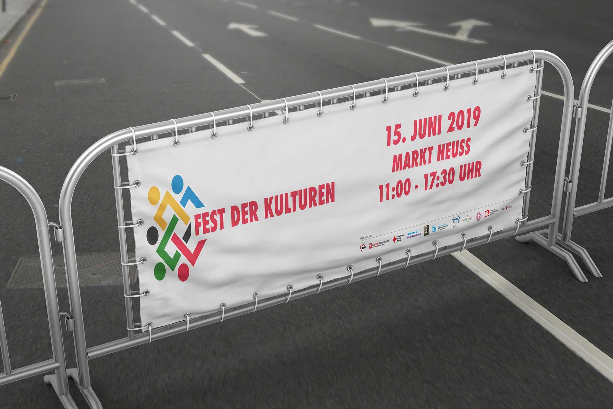 Banner Fest der Kulturen