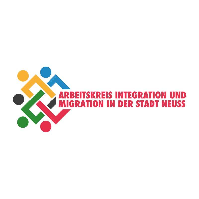 Logo Arbeitskreis Integration und Migration in der Stadt Neuss