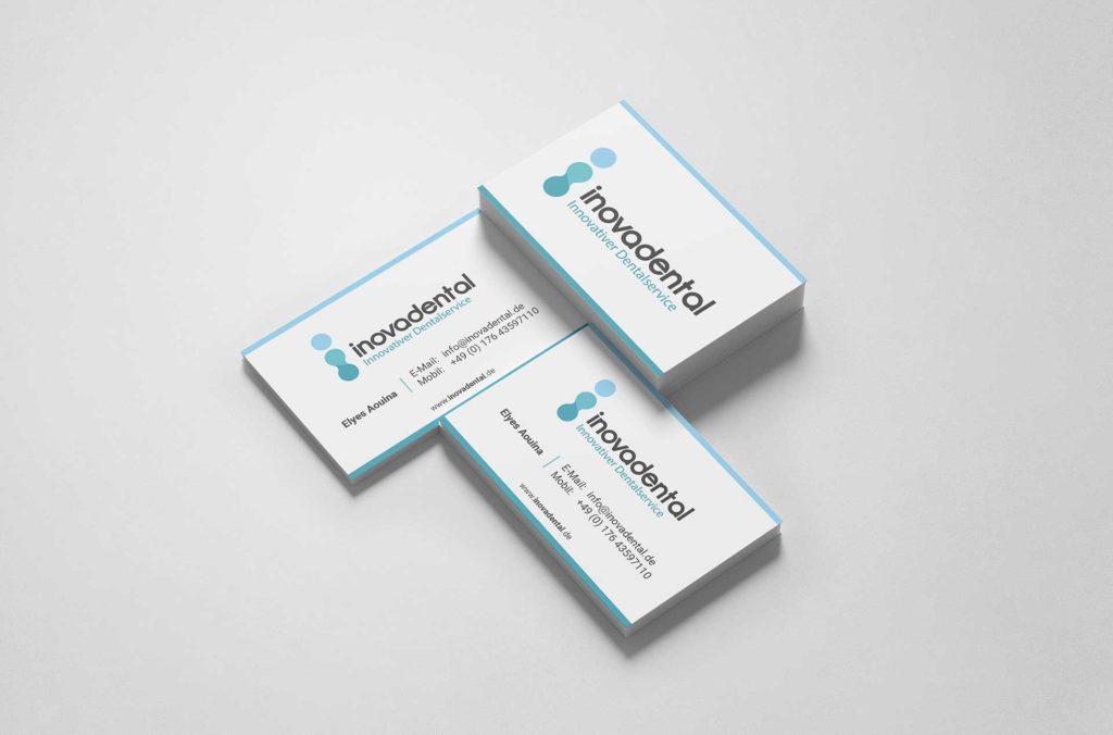 Visitenkarten Inovadental